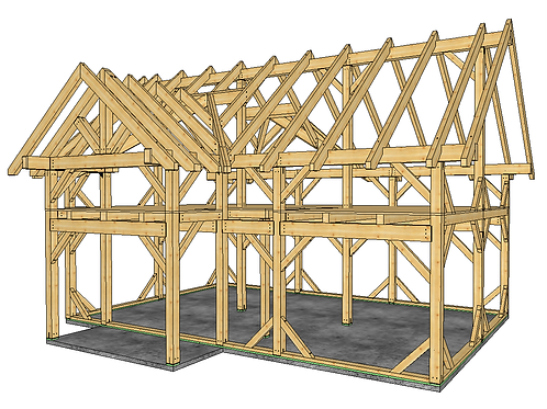 24' x 36' T-REX 2-Story Workshop with Dormers