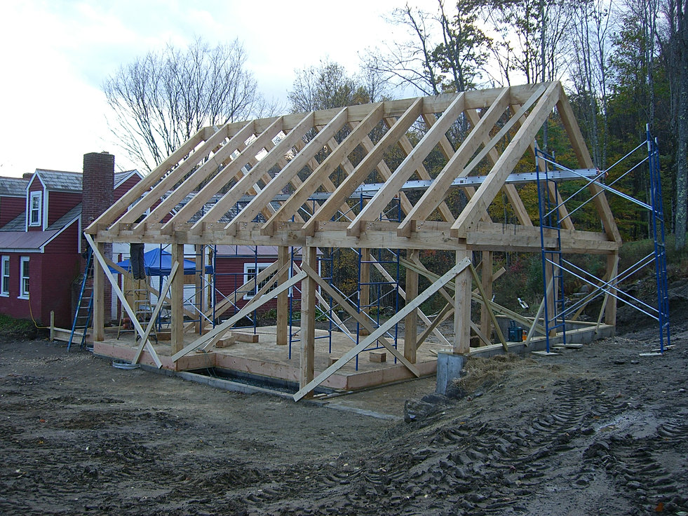 Diy stock and custom timber frame plans for Diy timber frame plans