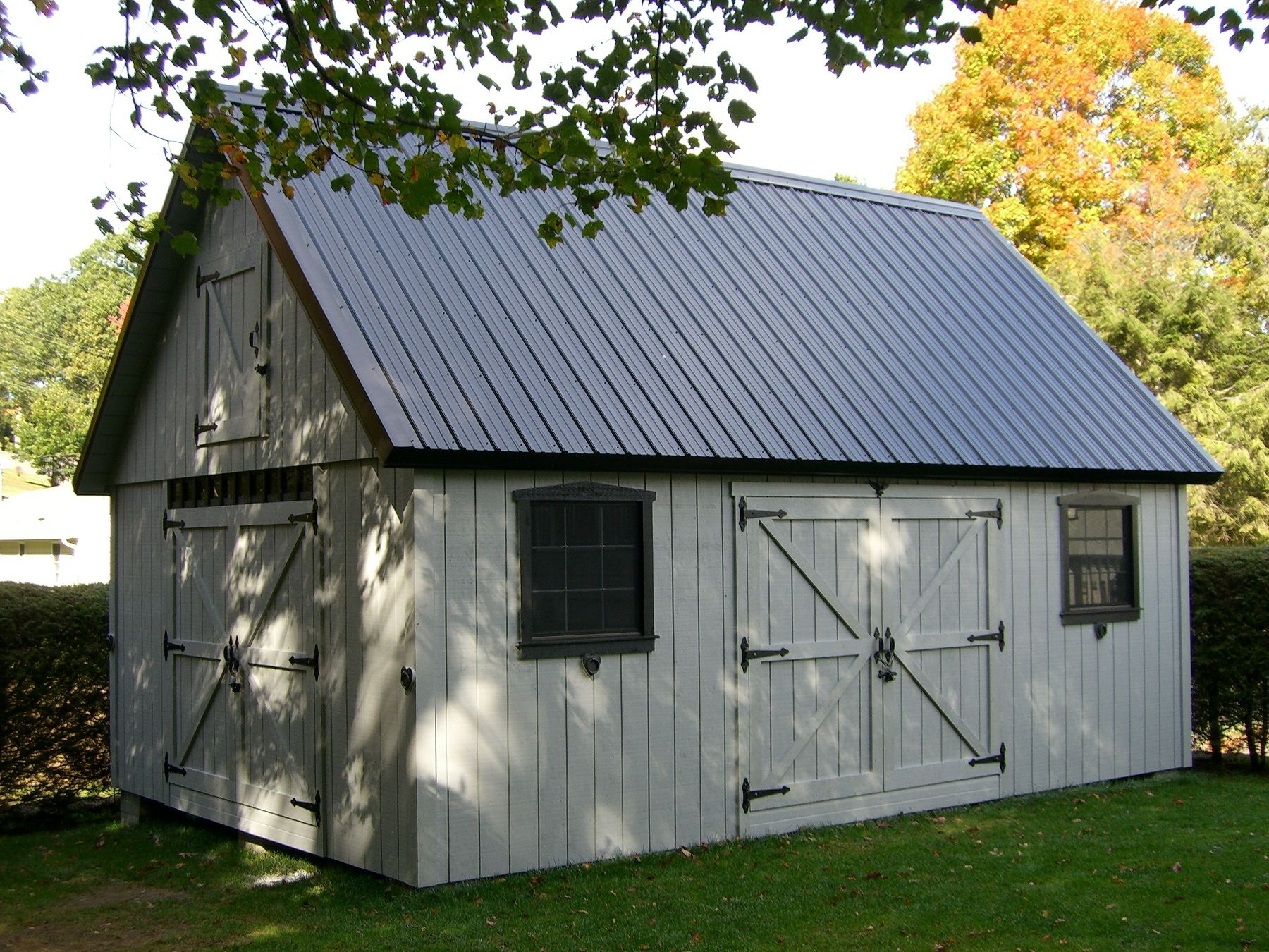 16' x 24' Post and Beam Barn