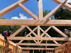 Timber Frame CNC Cut Trusses