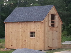 16' x 20' Timber Frame Shed