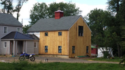 24' x 32' Timber Frame Barn