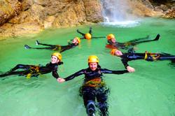 Canyoning Trip Extreme Slovenia E