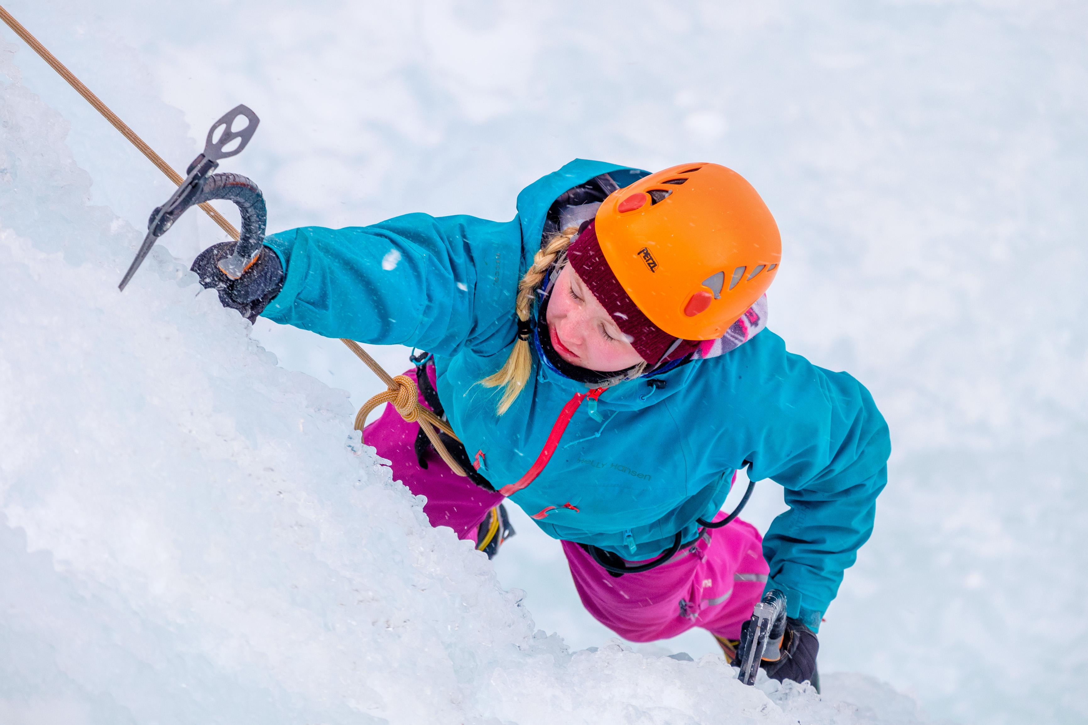 Ice Climbing Slovenia 1