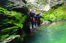 Adventure day 4 Bled canyoning rafting