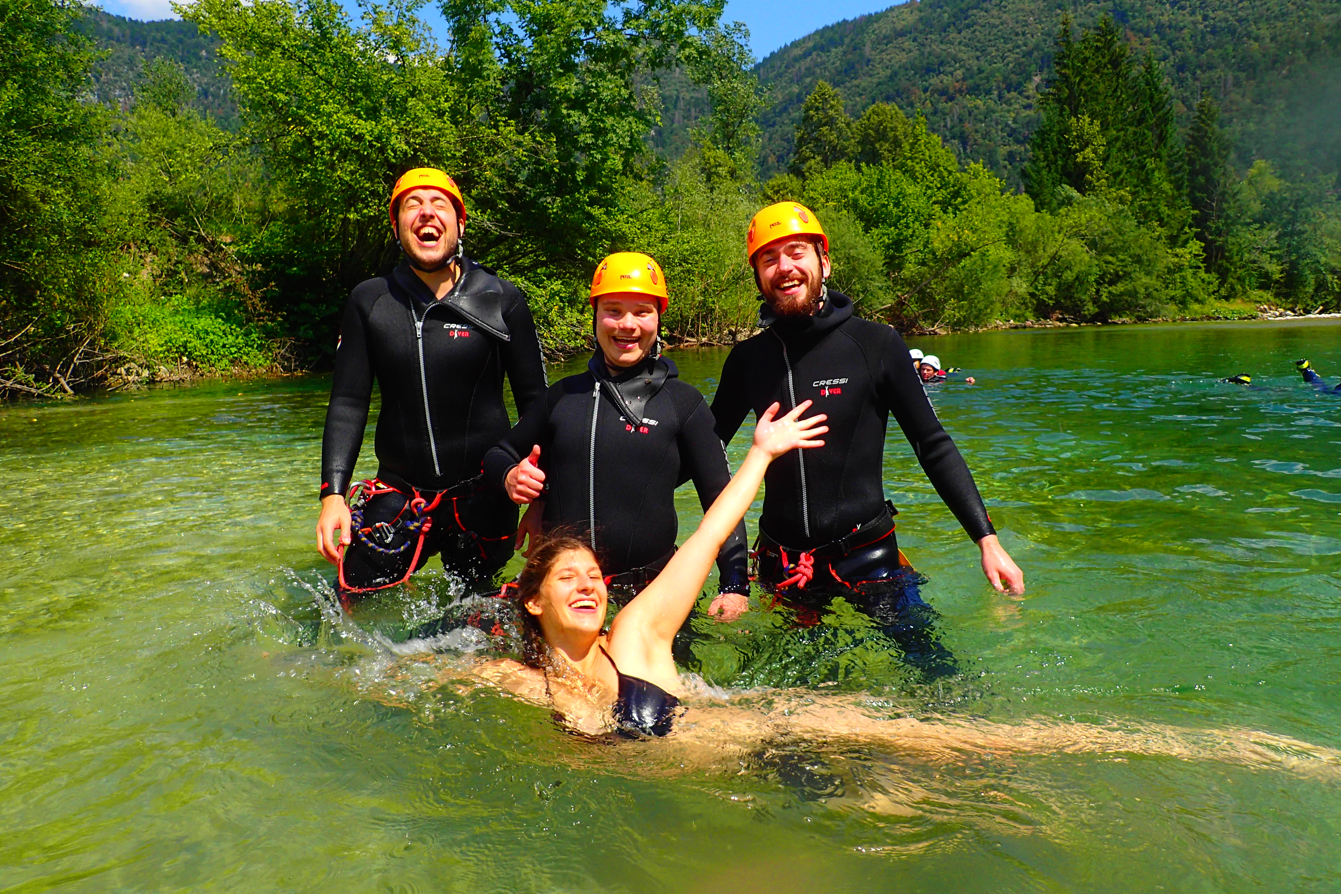Canyoning Bled 8