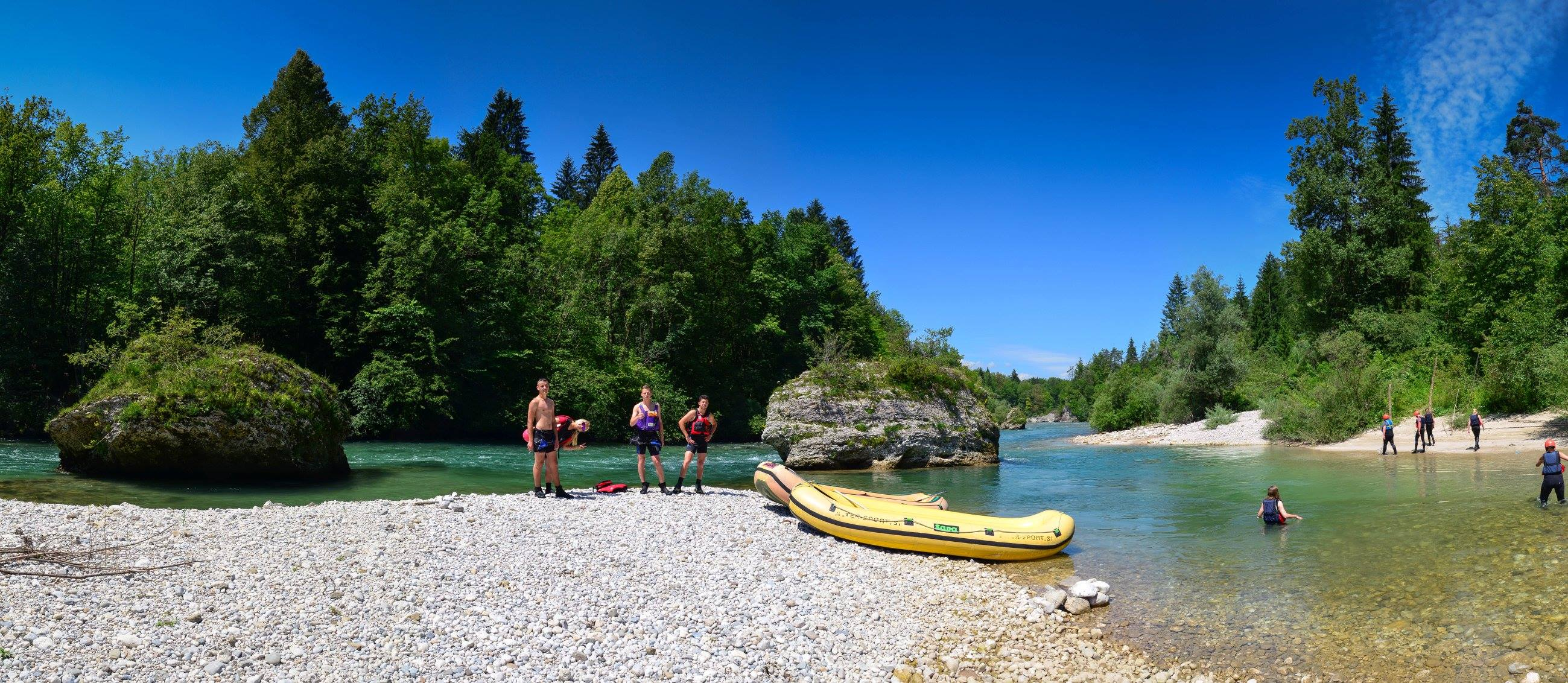 Rafting Bled on Sava river