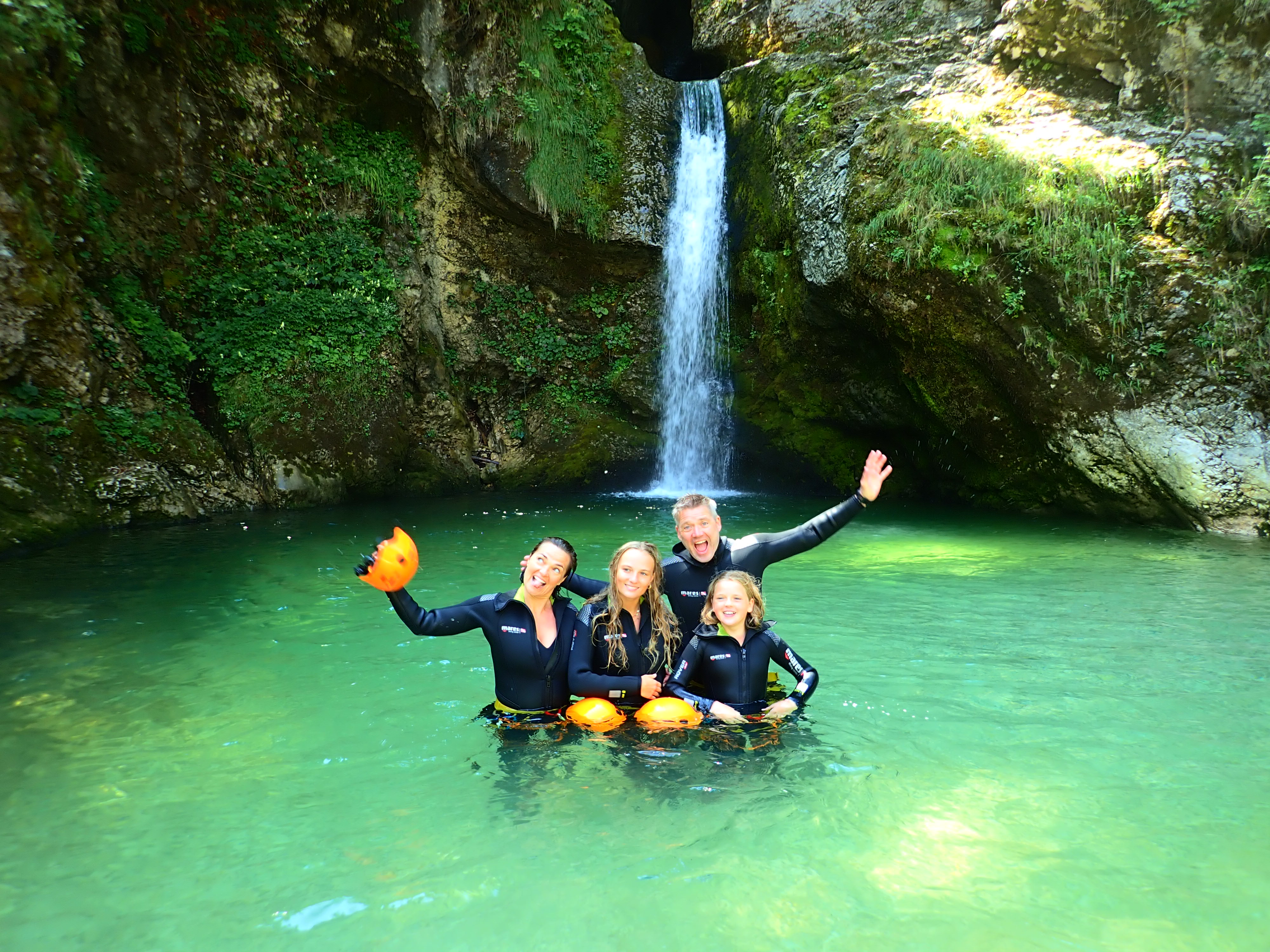 Bled Canyoning trip 1