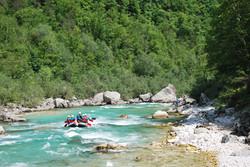 Explore Slovenia Adventure Canyoning Rafting 5