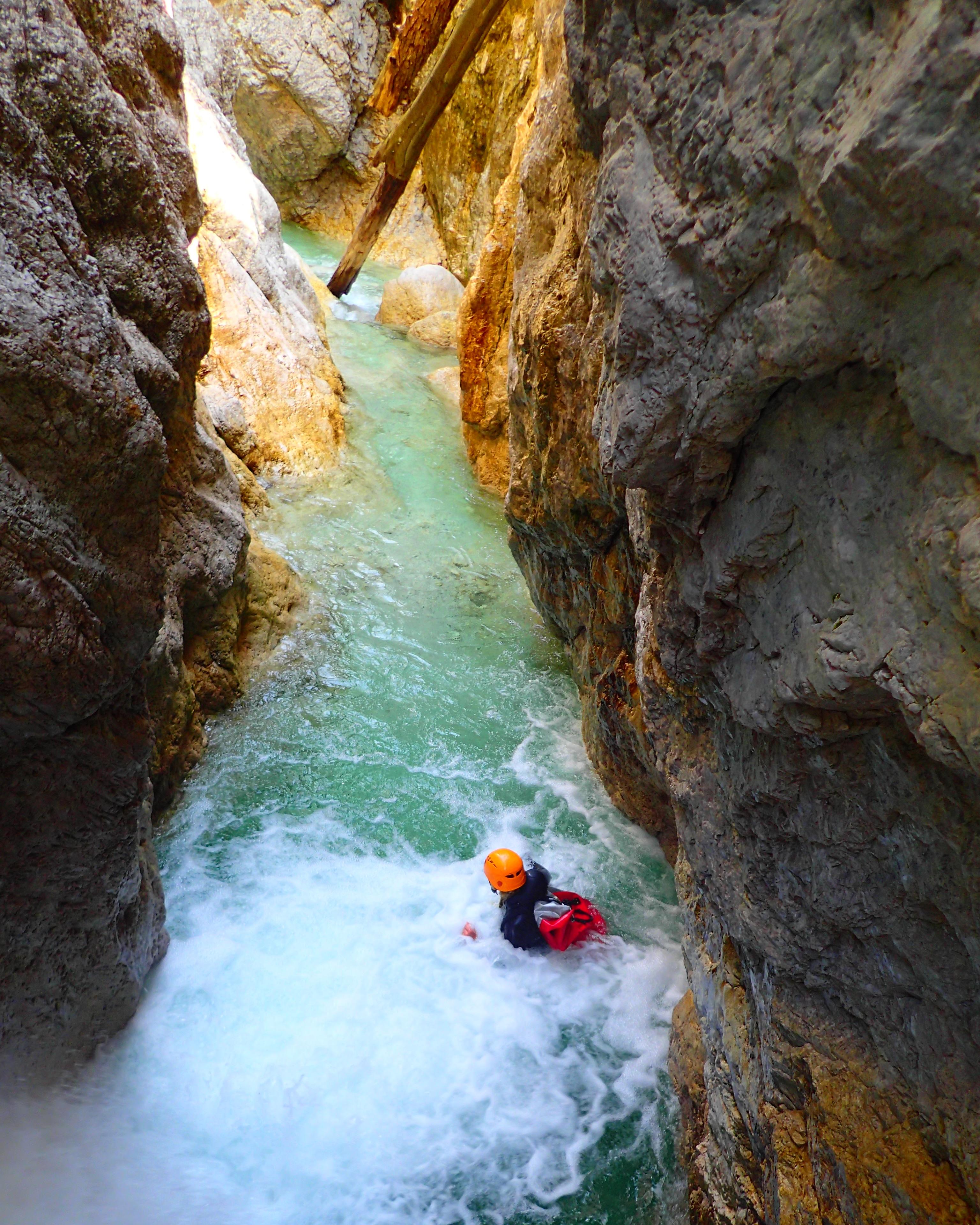 canyoning bled extreme slovenia
