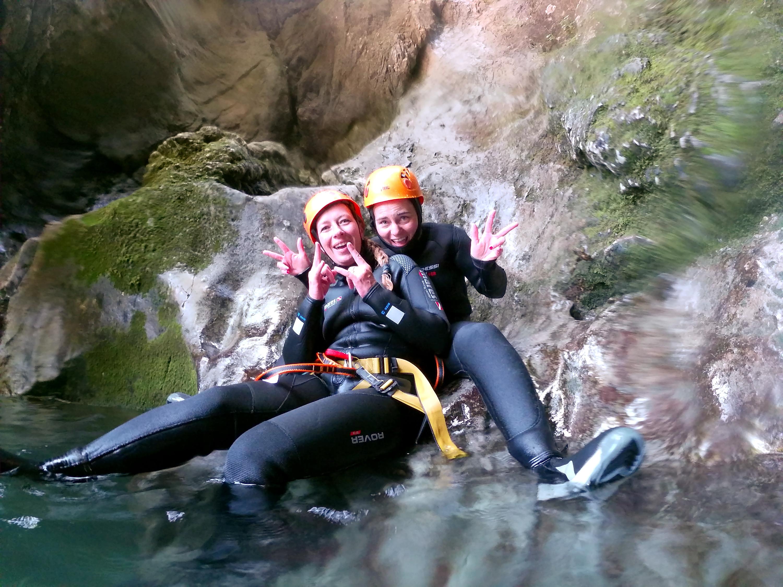 Canyoning Bled Grmecica fun