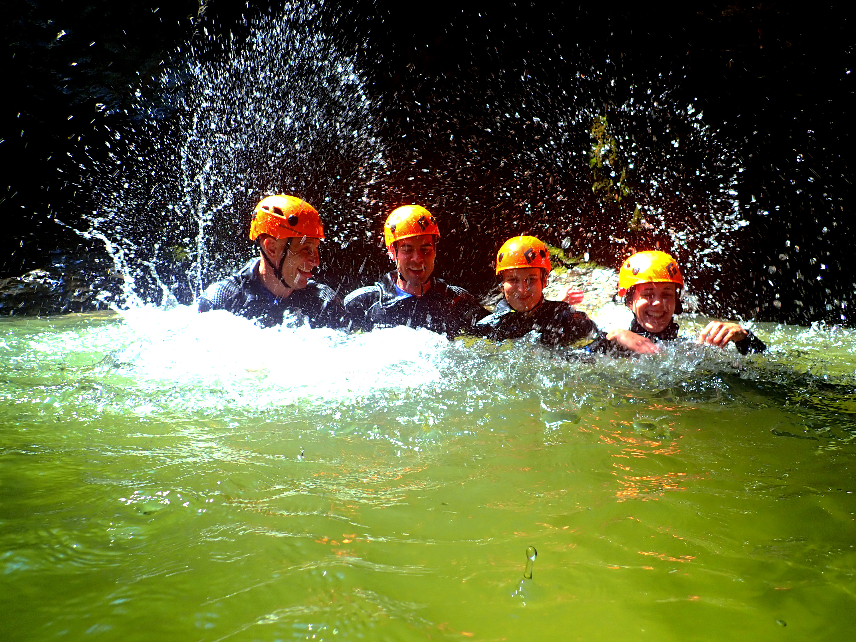 Adventure Day Bled Canyoning Rafting E