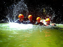 Adventure Day Bled Canyoning Rafting E.j