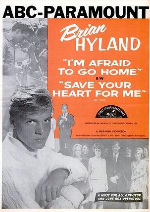 A brian-hyland-im-afraid-to-go-home-1963