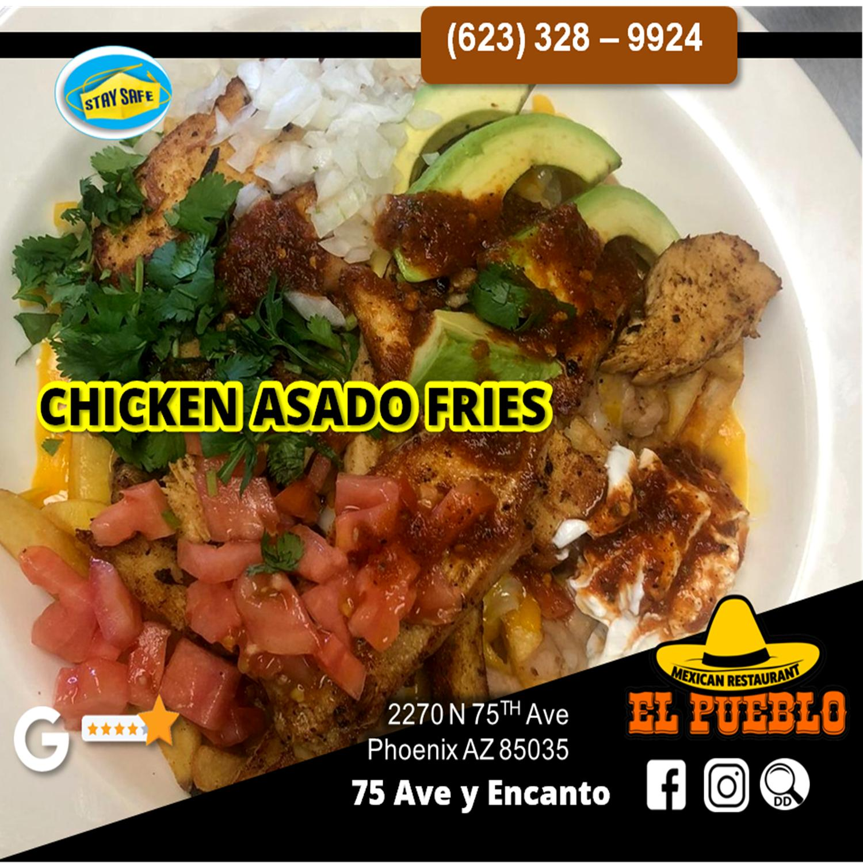 Chicken Asada Fries