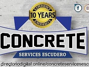 ESCUDERO CONCRETE SERVICES