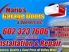 MARIO GARAGE DOOR 7 OPENERS LLC