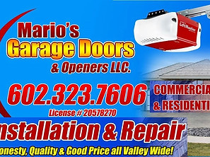 MARIO GARAGE DOOR 7 OPENERS LLC