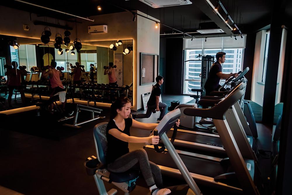 Gym in Bukit Bintang KL