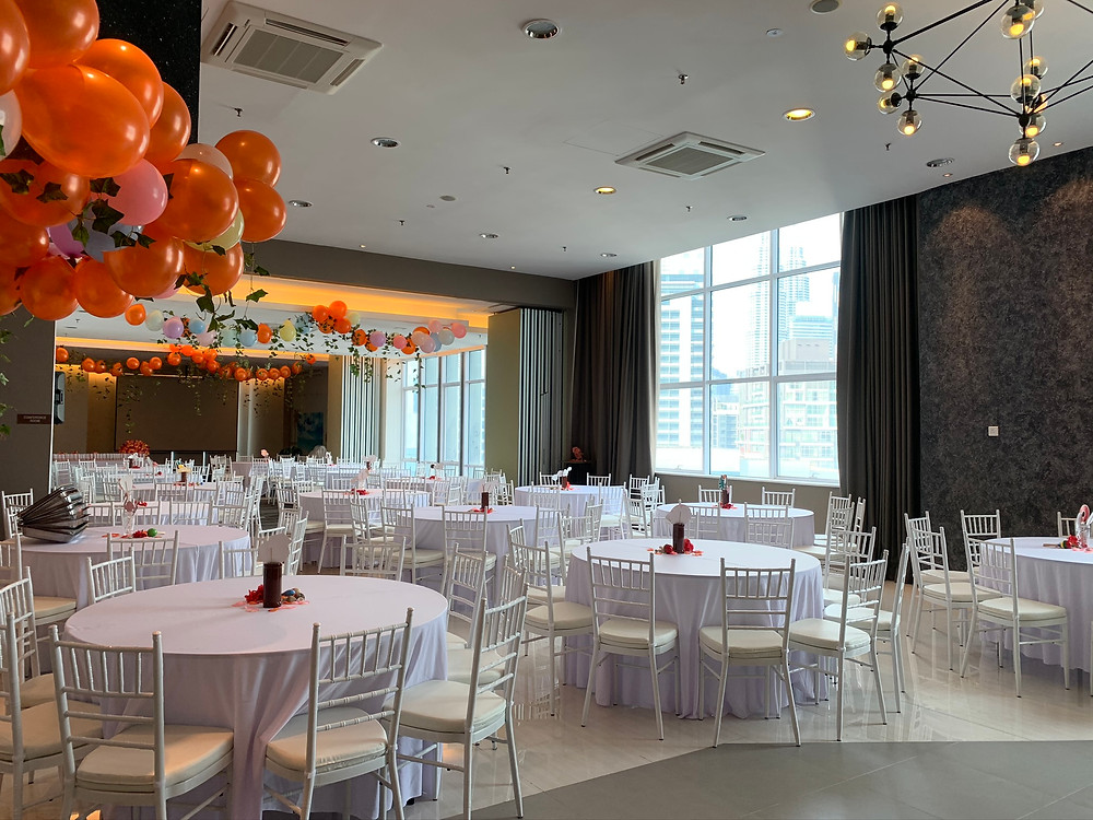 Vida bukit Ceylon kuala lumpur , Bachelorette party venues in kl,  Banquet hall kl , Wedding reception KL Bukit Bintang, Company Annual Dinner Venue