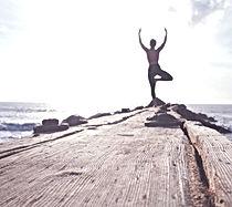 Yoga por el mar