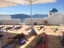 yoga in santorini, yoga retreat, yoga retreat in santorini, sunset yoga, sunrise yoga