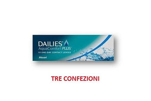 FOCUS DAILIES AuqacomfortPlus 3 confezioni