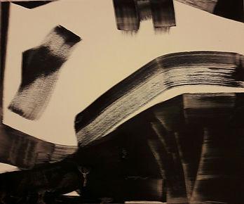Uruburu-pigmenti e smalto su tela 50x60