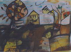 AUTUNN ALE olio su tela cm 50 x cm 70 1999-002
