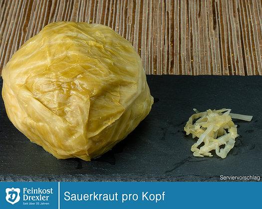 Sauerkraut Kopf