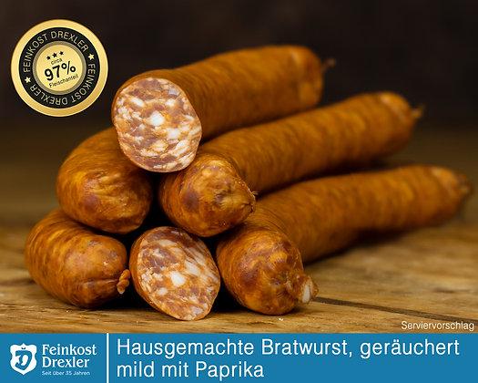 Hausg. Bratwurst - geräuchert, mild ohne Knoblauch