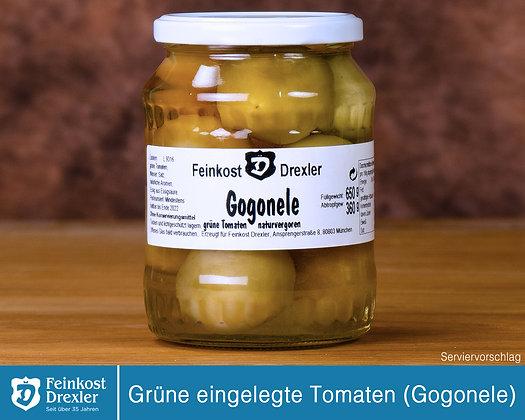 Grüne eingelegte Tomaten - pro Glas