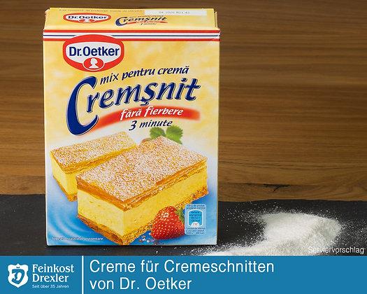Creme für Cremschnitten Dr. Oetker