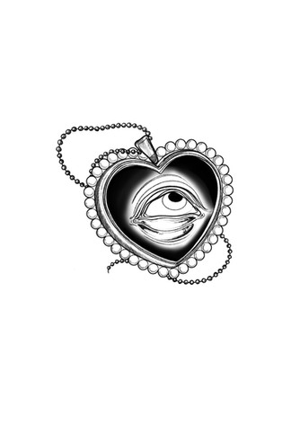Lover's Eye Locket