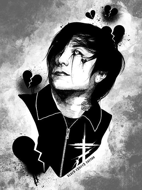 'Frank' A4 Print