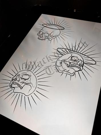 Saintly Skulls