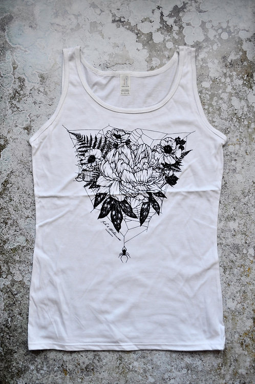 Web and Flowers Lady's Vest