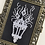 Thumbnail: Ghost Lantern Vintage Framed Cross Stitch