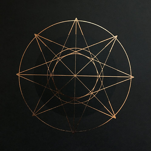 Occult Star Print