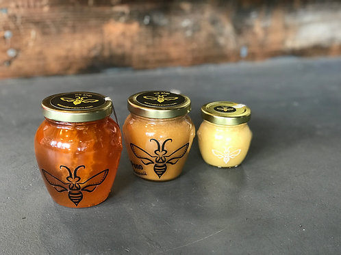 Current Honey flavors in stock:
