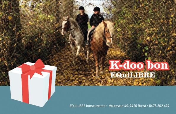 Ori K-doo bon geven met de feestdagen?