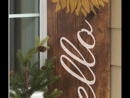 Custom Door Sign