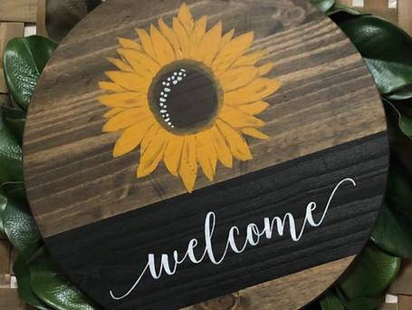 Welcome Door/Wall Hanger