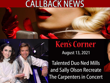 Talented Duo Ned Mills and Sally Olson Recreate The Carpenters in Concert
