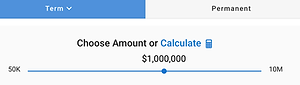 IYS-6-C-Choose Policy Amount or Calculat