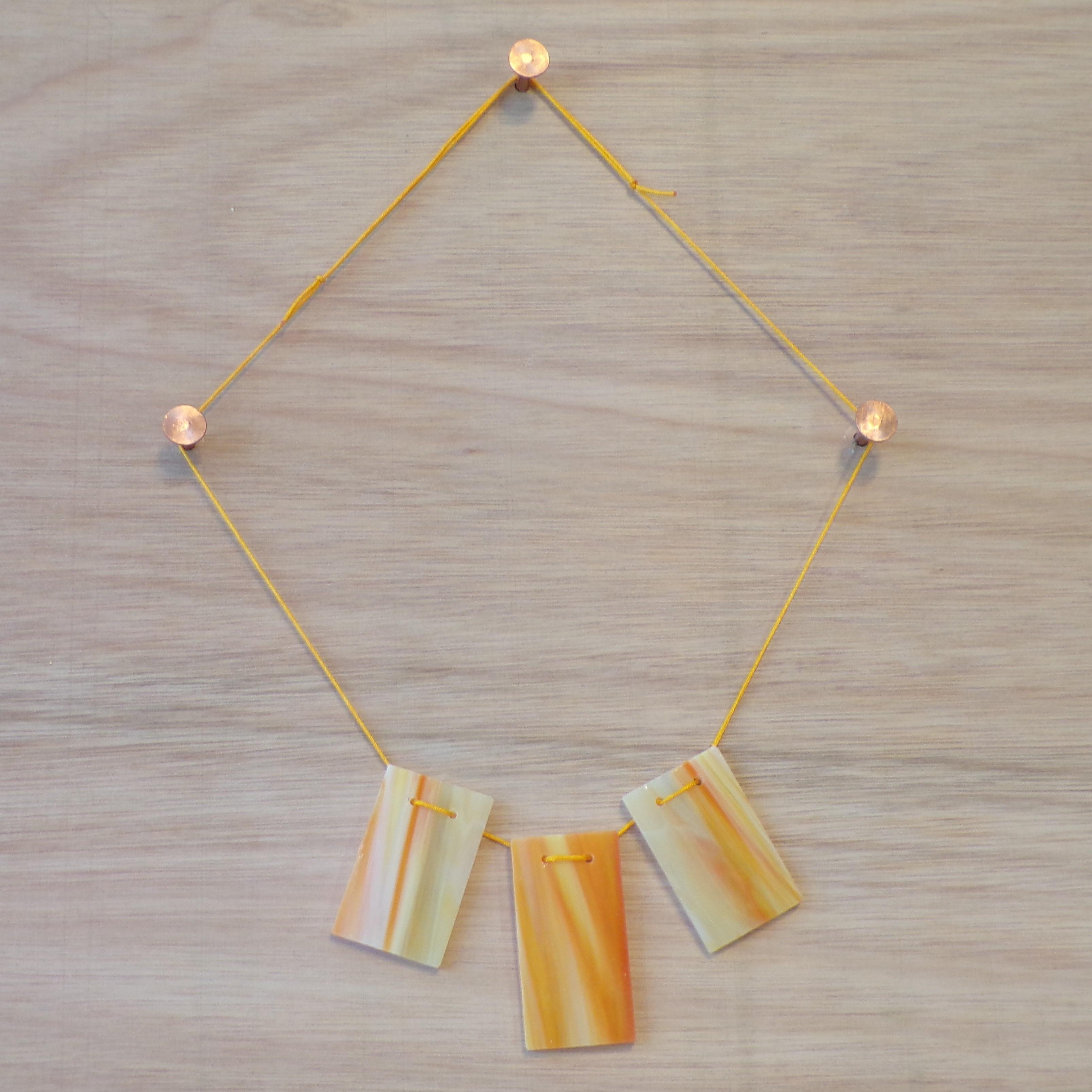 Orange, yellow and white (3)