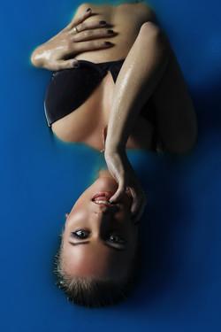 фотосессия в бассейне