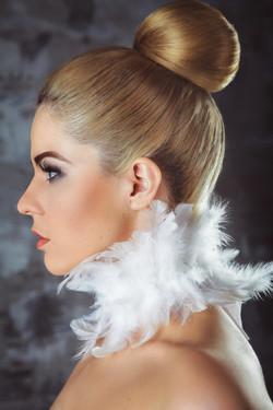 фэшн портрет блондинки