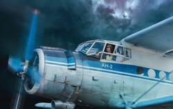 самолет пилотируемый девушкой