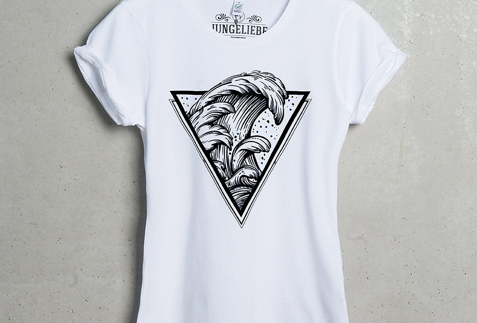 ROLL UP T-SHIRT WOMEN // Tides of Time